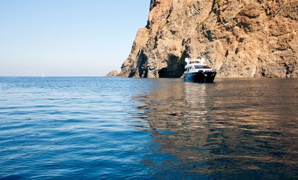 the sea to Salina - Aeolian Islands