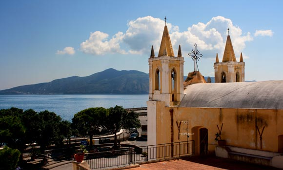 church of Santa Marina Salina - Aeolian Islands