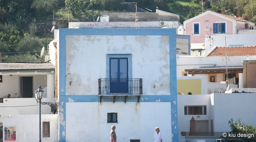 Aeolian architecture - Salina - Aeolian Islands